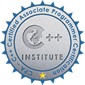 CPA-C++ Certified Associate Programmer Certification