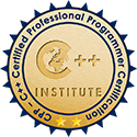 CPP-C++ Certified Professional Programmer Certification