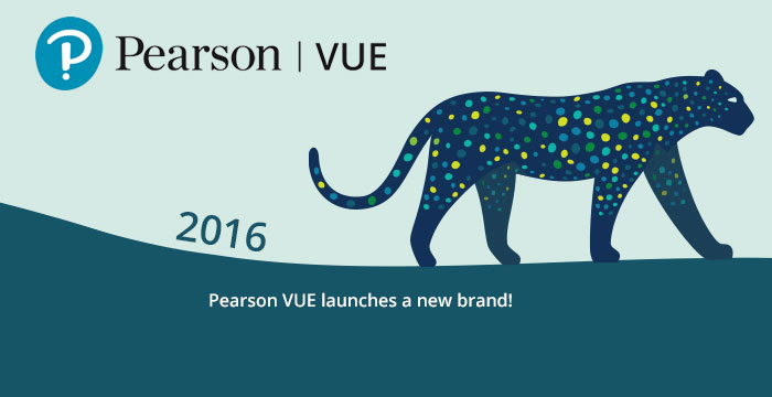 2016: Pearson VUE launches a new brand!