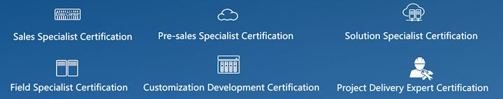 Huawei certifications
