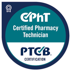 CPhT, Certified Pharmacy Technician, PTCB Certification