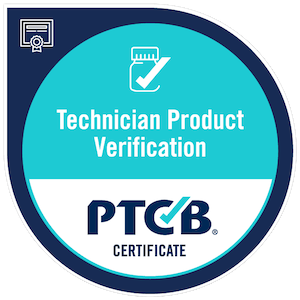 Technician Product Verification, PTCB