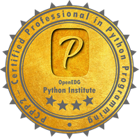 OpenEDG PCPP2 Certification Badge