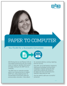 Paper to Computer: a guide to successful conversion