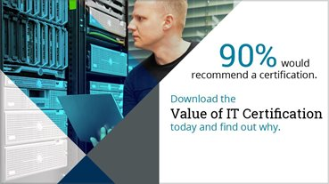 Certification: Download the Pearson VUE 2018 Value of IT Certification Survey